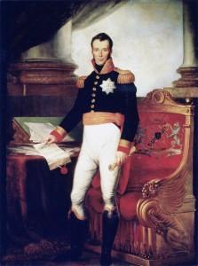 Koning_Willem_I_-_staand_met_de_grondwet_van_1815
